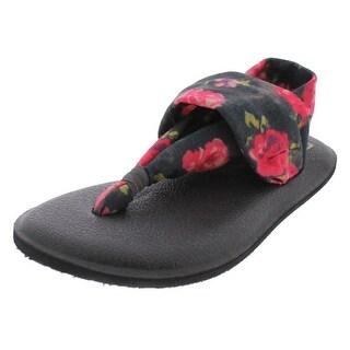 Sanuk Girls Flat Sandals Yoga Sling
