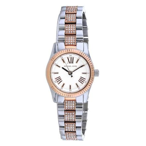 Michael Kors Women's Lexington White Dial Watch - MK3876 - One Size