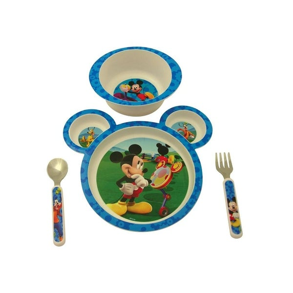 The First Years Disney Mickey Mouse Feeding Set - 4 Piece