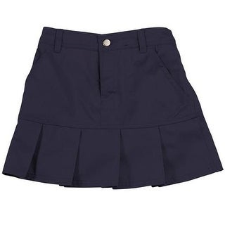 French Toast Girls 4-6X Twill Pleated Scooter