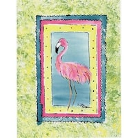 Carolines Treasures 8107GF Bird - Flamingo Flag Garden Size