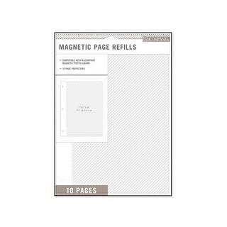 K&Co Photo Album Refill Magnetic 10pc