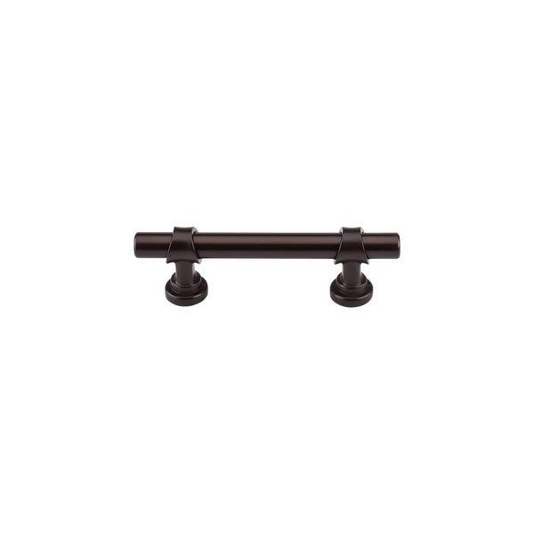 """Top Knobs M1752 Bit 3"""" Center to Center Bar Cabinet Pull from the Dakota Series - Oil Rubbed bronze - n/a"""