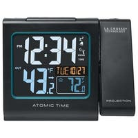 La Crosse Technology 616146B La Crosse Technology 616-146 Atomic Color Projection Alarm clock