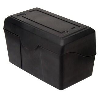Advantus Plastic Durable Index Card Box, 5 X 8 in
