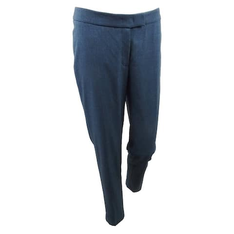 Anne Klein Women's Slim-Leg Pants - Juniper