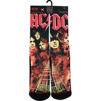 AC/DC Highway to Hell Crew Socks, 6-13