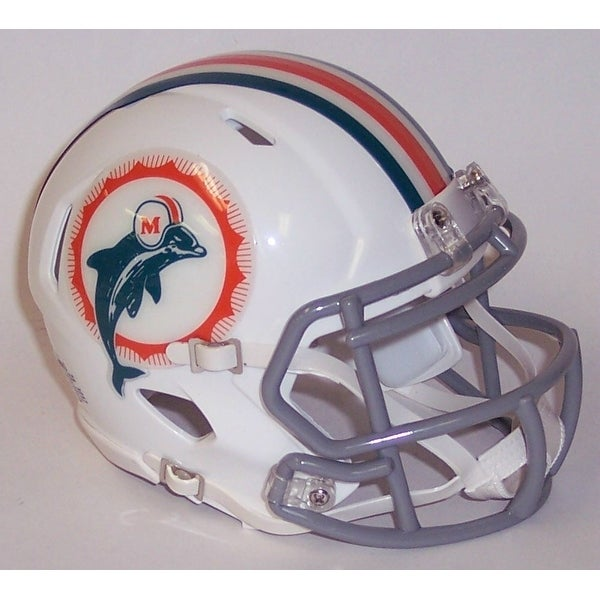 Shop Miami Dolphins 1966 Tribute Riddell Speed Mini Football Helmet
