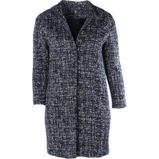 Eleventy Womens Plus Coat Printed Long - 46