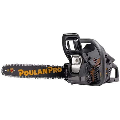 Poulan Pro PR4016-967084601 Lightweight Chainsaw, 32cc 2-Cycle Gas Engine, 16""