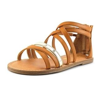 Nina Kids Honey Open Toe Leather Sandals