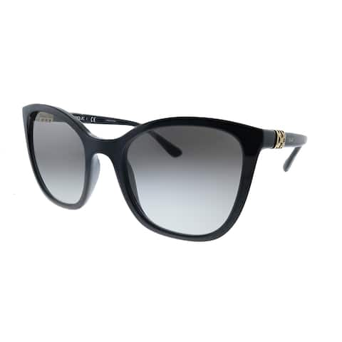 Vogue Eyewear VO 5243SB W44/11 53mm Womens Black Frame Grey Gradient Lens Sunglasses