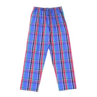 Polo Ralph Lauren NEW Blue Mens Size Medium M Plaid-Print Lounge Pants|https://ak1.ostkcdn.com/images/products/is/images/direct/20d6113b40d9435ad51f86b6c51db7e4cc221178/Polo-Ralph-Lauren-NEW-Blue-Mens-Size-Medium-M-Plaid-Print-Lounge-Pants.jpg?impolicy=medium