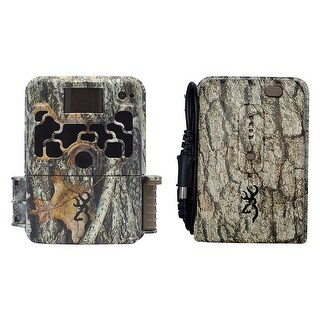 Browning Dark Ops HD 940 Micro Trail Camera (16MP) with Extended Battery Pack - Camouflage