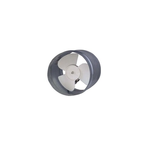Canarm DA8S 500 CFM 2.8 Sone In-Line Boosted Duct Exhaust Fan - na