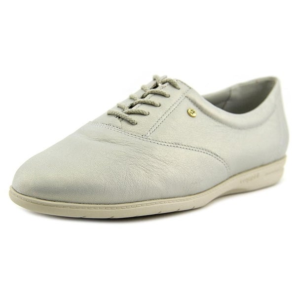 Easy Spirit Motion Women N/S Round Toe Leather Gray Oxford