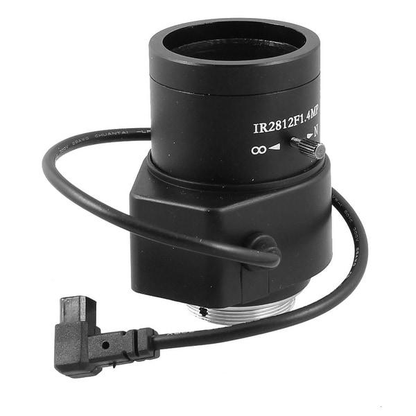 "F1.4 1/3"" CS Mount Varifocal Auto Iris CCTV Camera Replacement 2.8mm-12mm"