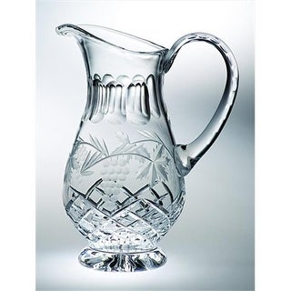 Majestic Gifts C683GR Grape 43 oz. Crystal Pitcher