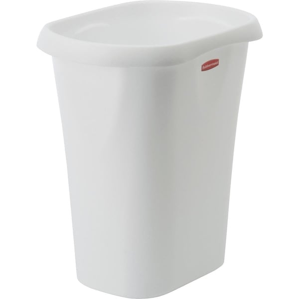 Rubbermaid 12Qt White Wastebasket