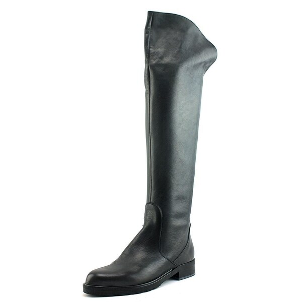 Charles David Brenson Women Round Toe Leather Knee High Boot
