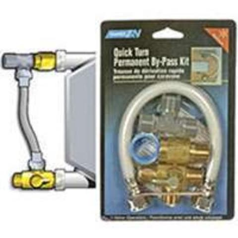 Camco 35983 Quick-Turn Permanent Water Heater By-Pass Kit