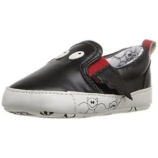 Rosie Pope Kids Footwear Black Bat Crib Shoes Infant Boys Faux Leather