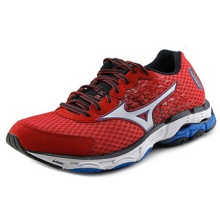 Mizuno Wave Inspire 11 Men Round Toe Synthetic Red Running Shoe