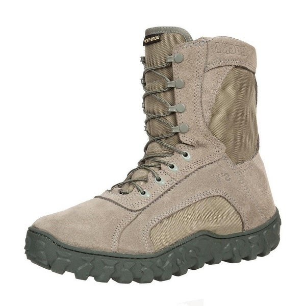"Rocky Tactical Boots Mens 8"" S2V GTX WP Sage Green"