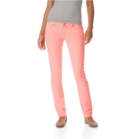 Aeropostale Womens Bayla Low Rise Signature Skinny Fit Jeans