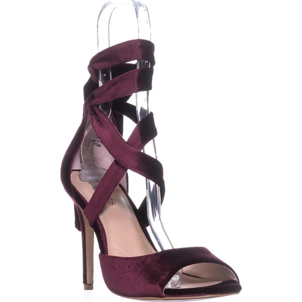 Charles David Rebecca Pointed Toe Classic Dress Pumps, Cabernet - 9.5 us