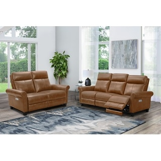 Link to Abbyson Edison Power Reclining Sofa and Loveseat Similar Items in Living Room Furniture