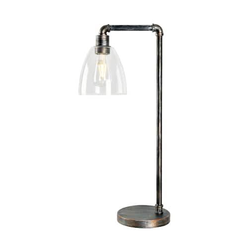 "Piper Desk Lamp - Vintage Metal - 7"" x 26"""