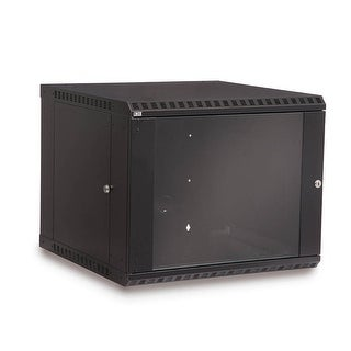 Offex Rackmount Fixed Wall Mount Cabinet, 9U