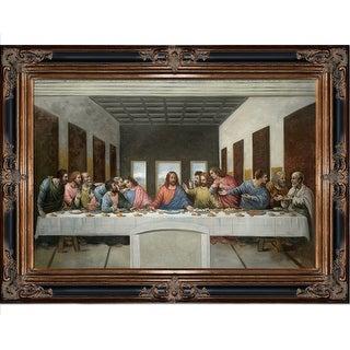 Leonardo da Vinci 'The Last Supper' Hand Painted Oil Reproduction