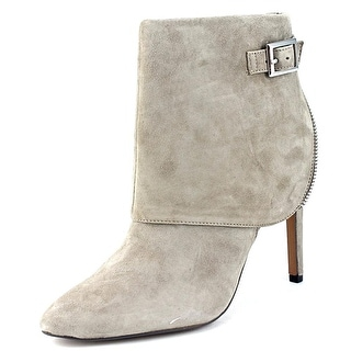 Jessica Simpson Dyers Women Pointed Toe Suede Gray Ankle Boot