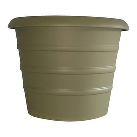 "Myers 8""Sl Green Marina Pot"