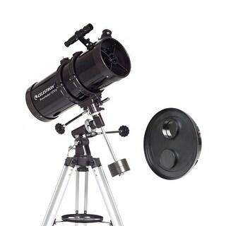 Celestron 21049 + 94222 Bundle Celestron PowerSeeker 127EQ Telescope