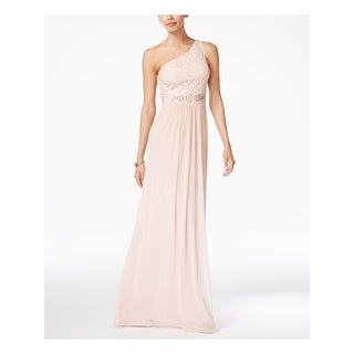 Link to ADRIANNA PAPELL Pink Sleeveless Full-Length Dress  Size 18 Similar Items in Dresses