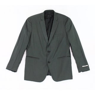 INC NEW Dusty Green Mens Size XL Milan Slim Fit Two Button Blazer