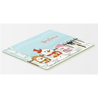 Carolines Treasures BB2429CMT Merry Christmas Carolers Smooth Fox Terrier Kitchen or Bath Mat 20 x 30