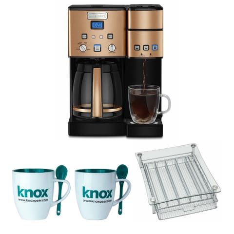 Cuisinart SS-15CP 12 Cup Coffee Maker And Single-Serve Brewer Bundle