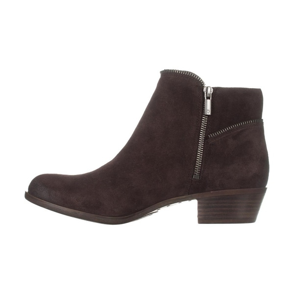 Lucky Brand Womens Boide Leather Almond Toe Ankle Fashion Boots