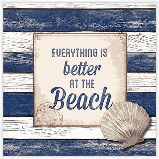 PTM Images 1584210 Everything is Better at the Beach Sign - N/A