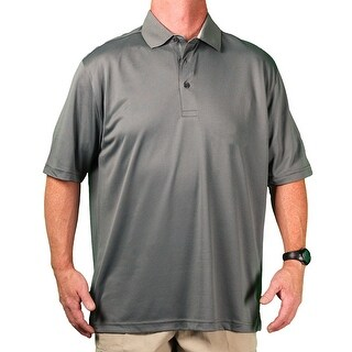 Zorrel Big Men's 'Cobblestone' Breathable Performance Polo