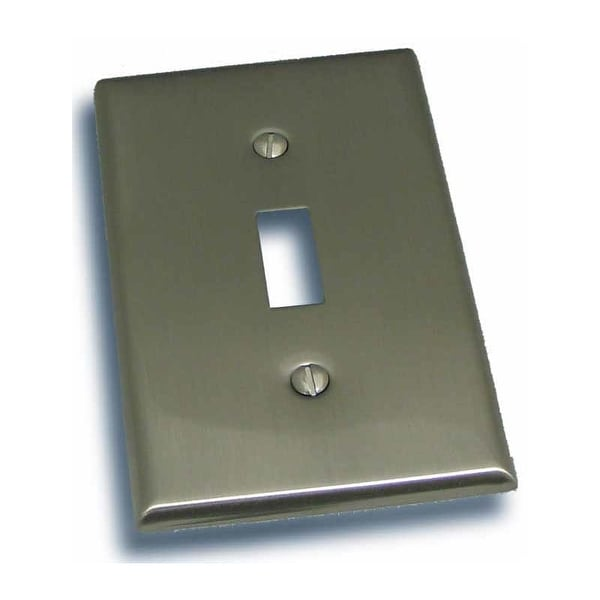 "Residential Essentials 10813 4.5"" X 2.75"" Single Toggle Switch Plate Featuring a Rustic / Country Theme"