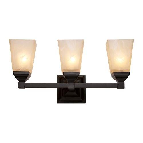 Trans Globe Lighting 20333 Mission Hall 3 Light Bathroom Vanity Light