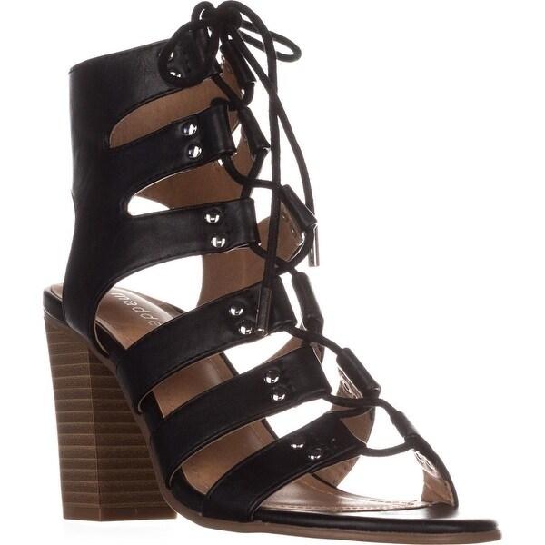 madden girl Nyles Gladiator Sandals, Black