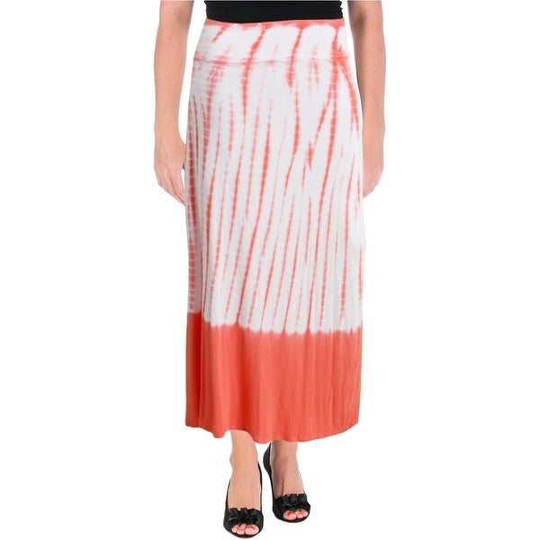 28e24405a Shop Kensie Womens Maxi Skirt Ombre Tie-Dye - Free Shipping On Orders Over  $45 - Overstock - 13060995
