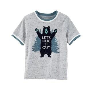 OshKosh B'gosh Little Boys' Bear Hug Tee, 3-Toddler - 3T