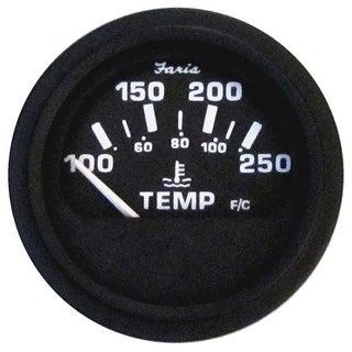 Heavy-Duty Black 2Inch Water Temperature Gauge Water Temperature Gauge
